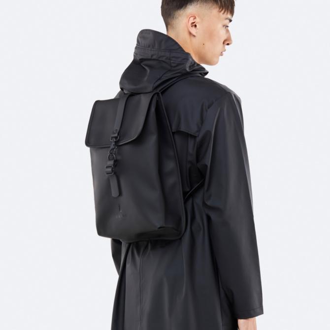 rains rucksack black
