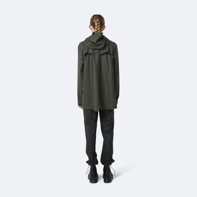 rains jacket green