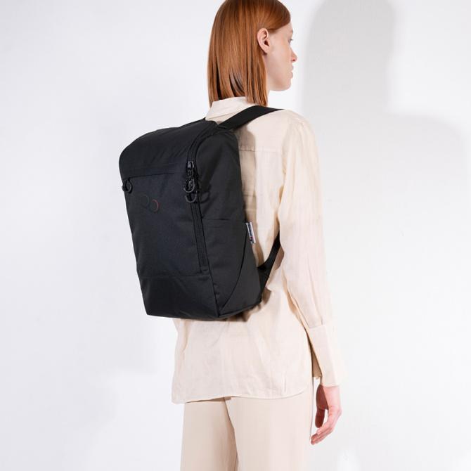 pinqponq purik backpack polished black