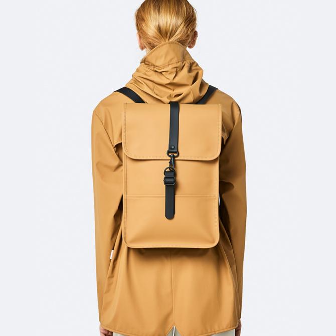 rains backpack mini khaki