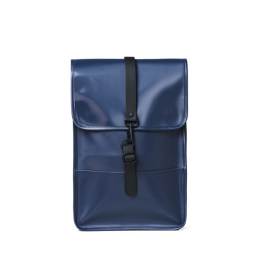 rains backpack mini shiny blue