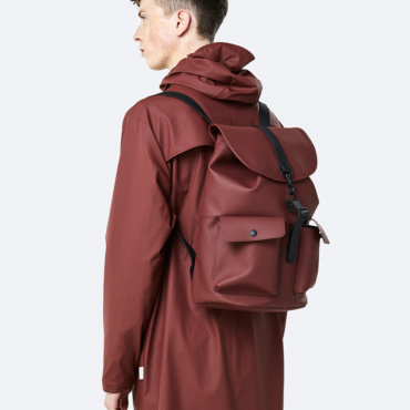 rains camp backpack maroon