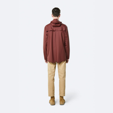 rains jacket maroon