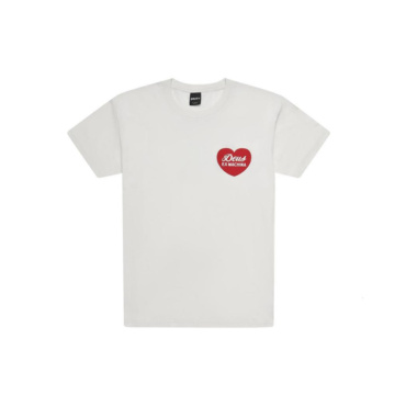 deus sentiments tee vintage white