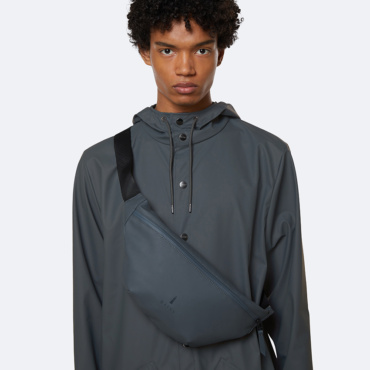 rains bum bag slate