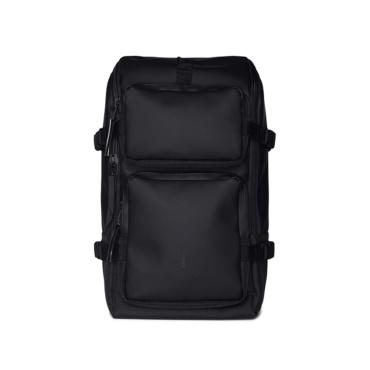 rains charger backpack black