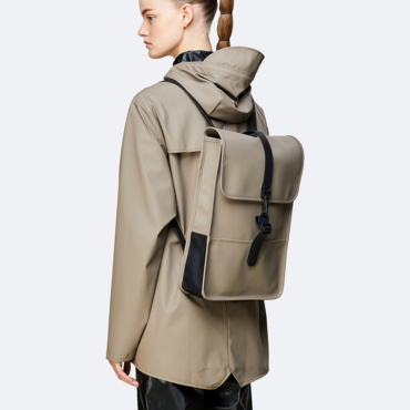 rains backpack mini taupe