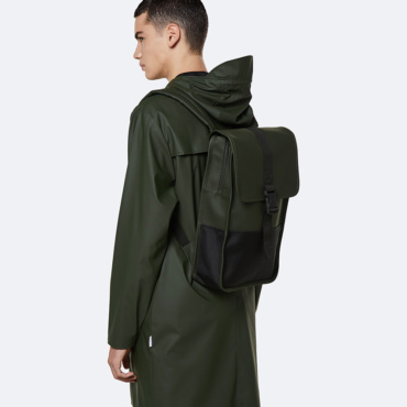 rains buckle backpack mini green