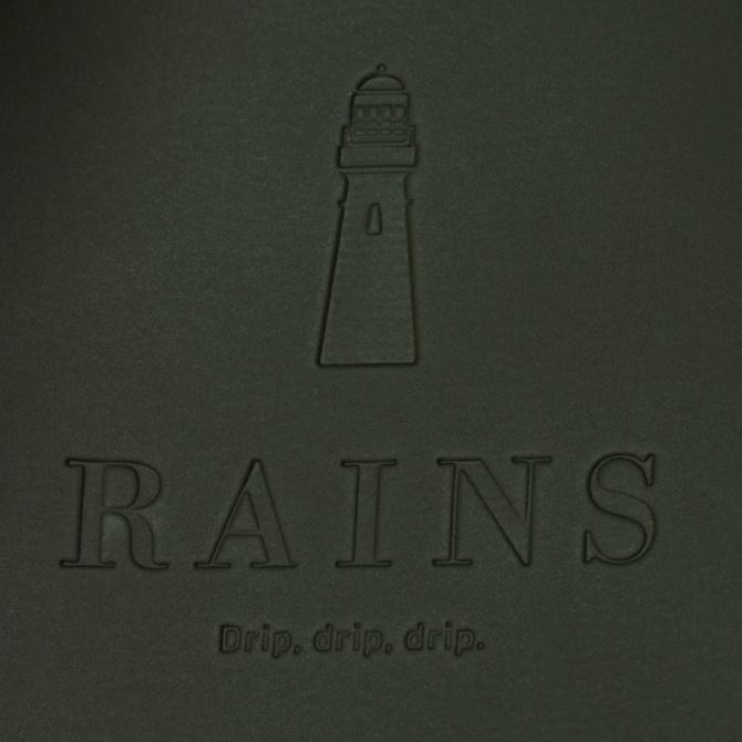 rains buckle msn bag green