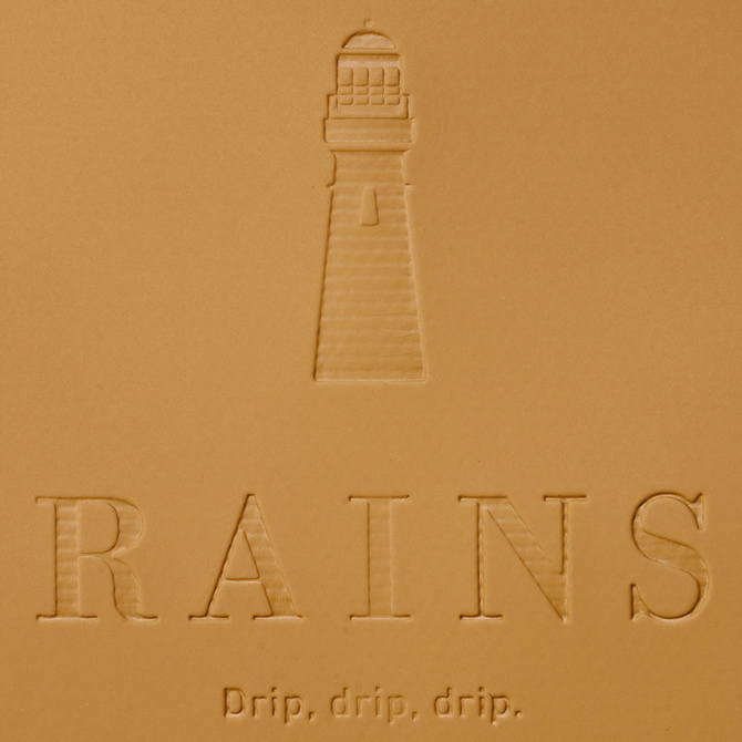 rains buckle rolltop rucksack khaki