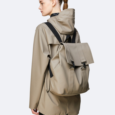 rains msn bag taupe