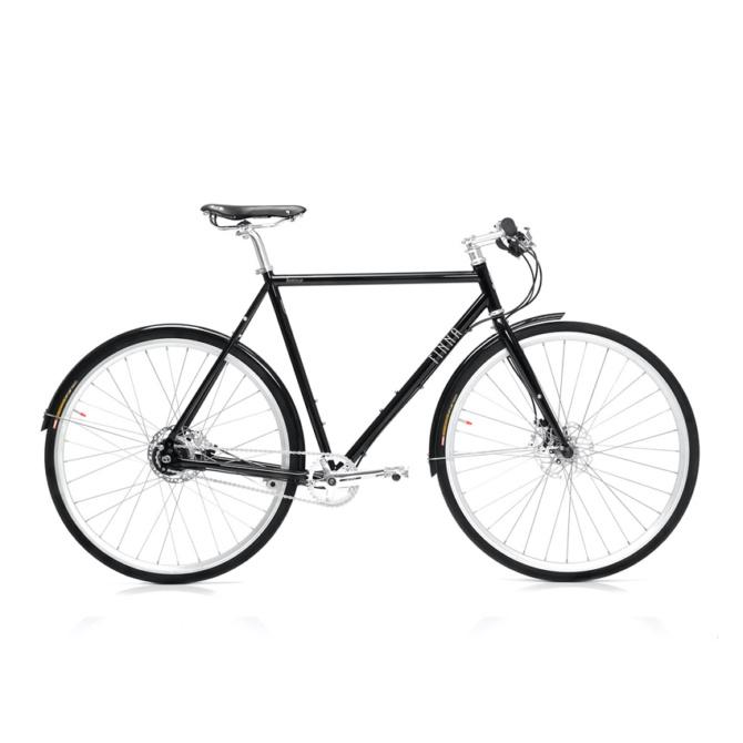 finna cycles avenue dark black