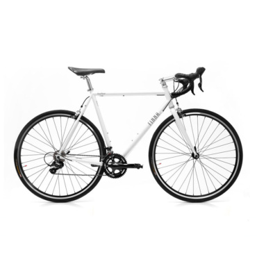 finna cycles road racer pearl white