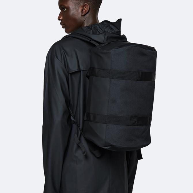 rains duffel bag small black