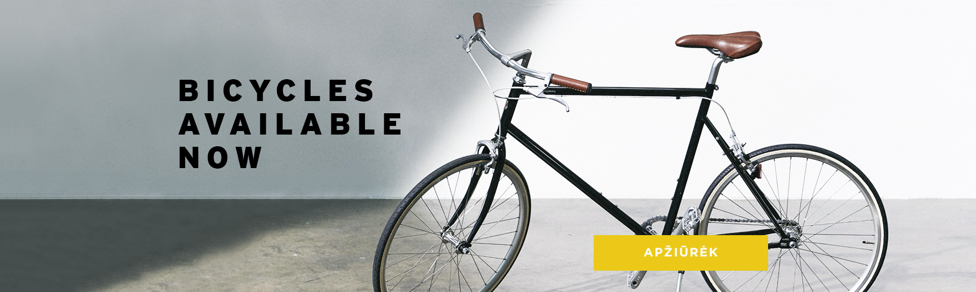 bicycles available now