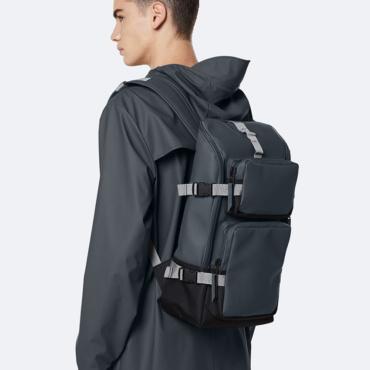 rains charger backpack slate