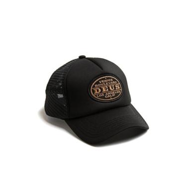 deus certified trucker black